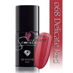 Oja UV Semilac 068 rosie Delicate Red 7 ml